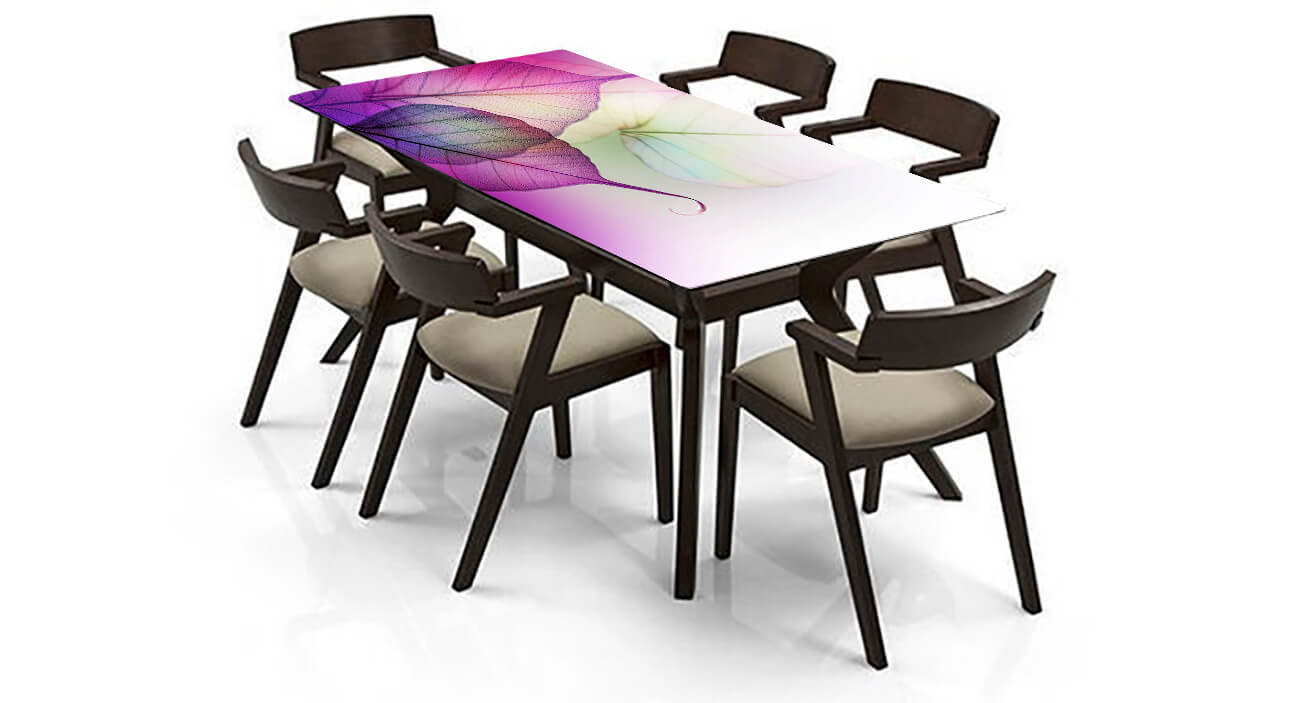 Designer Glass Dining Table TOP-FGDTD08