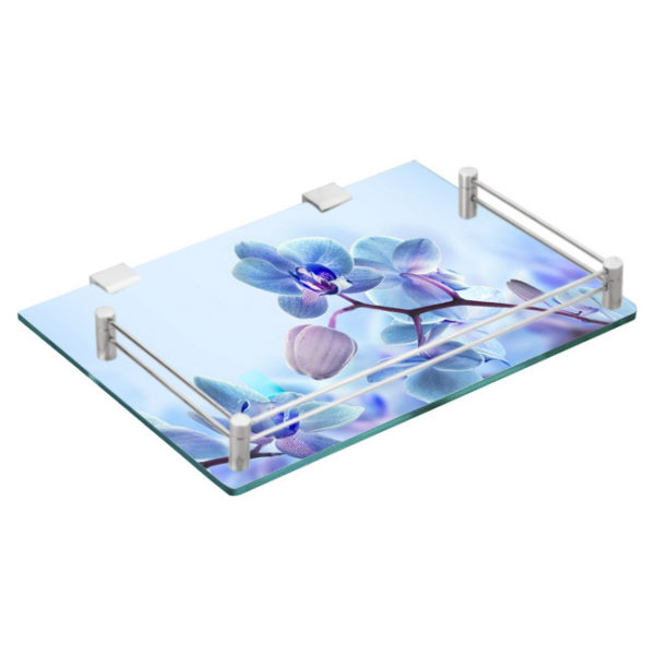 picture about Printable Glassware identified as Aptitude TOUGHENED Printable Layout GLASS DTH / Fastened Supreme BOX SHELF with Br Fittings